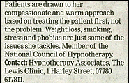 Hypnotherapy Harley Street - Hypnotherapy Associates